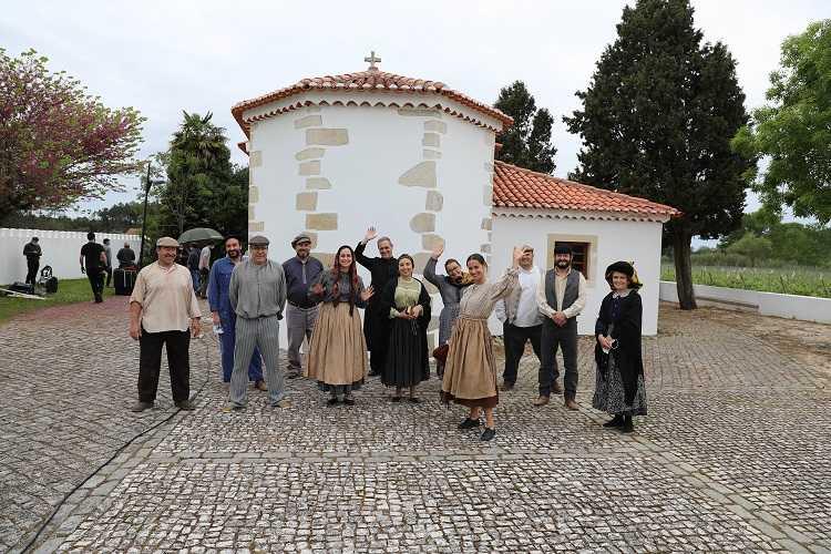 Jornal Campeão: Filme sobre obra de Carlos Oliveira está a ser rodado em Cantanhede