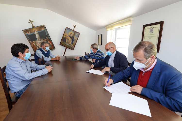 Jornal Campeão: Município de Miranda do Corvo apoia obras na Santa Casa da Misericórdia de Semide