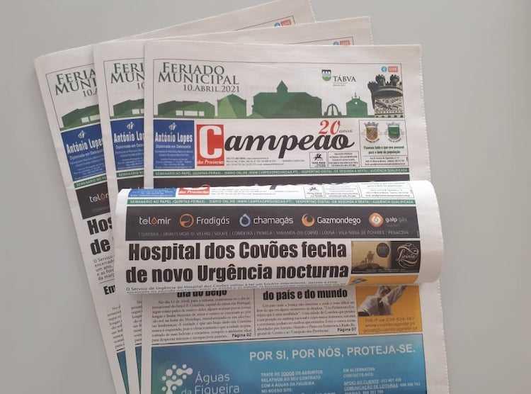Jornal Campeão: Hospital dos Covões fecha de novo urgência nocturna