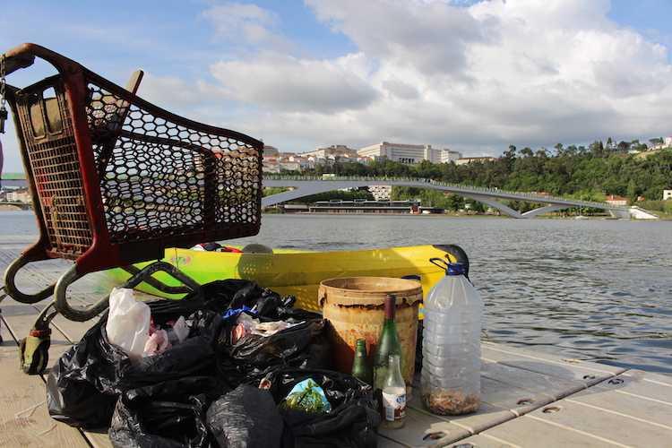 Jornal Campeão: AAC alerta para a necessidade de manter o Mondego limpo