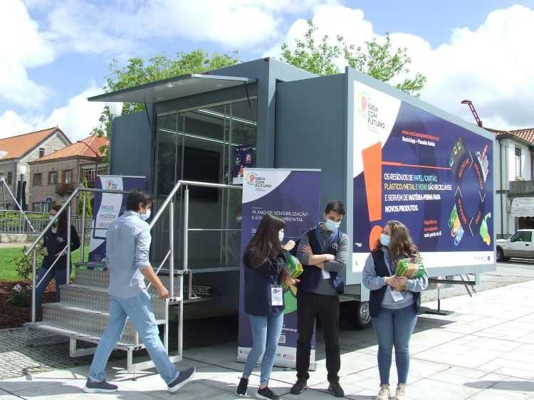 Jornal Campeão: Oliveira do Hospital recebe Campanha de Educação Ambiental