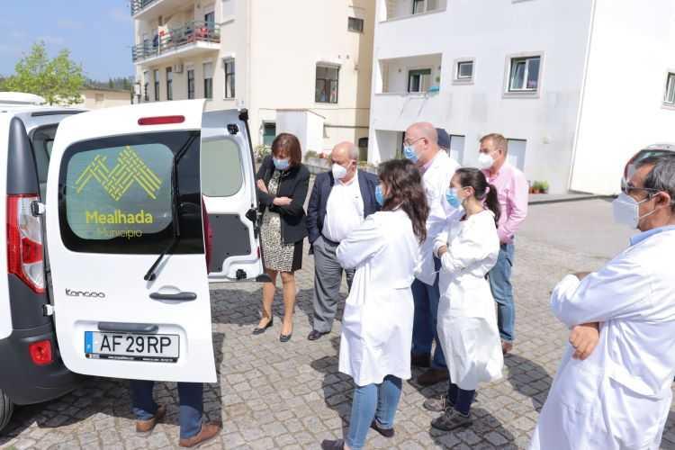 Jornal Campeão: Câmara da Mealhada adquiriu unidade móvel para centro de saúde da Pampilhosa