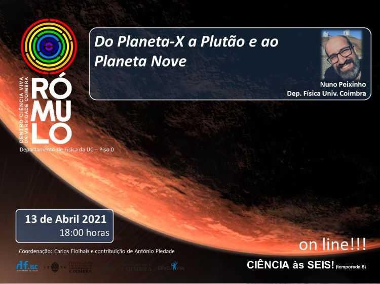 Jornal Campeão: Rómulo divulga sessão sobre novas teorias de um outro planeta no Sistema Solar