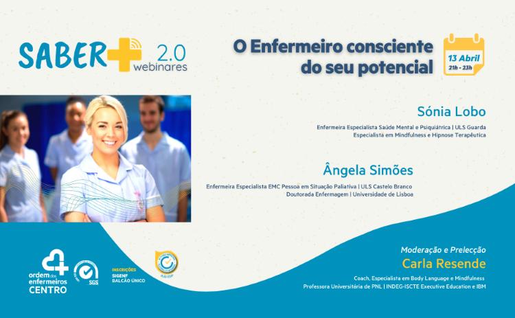 """Jornal Campeão: Secção do Centro organiza webinar sobre """"O Enfermeiro consciente do seu potencial"""""""