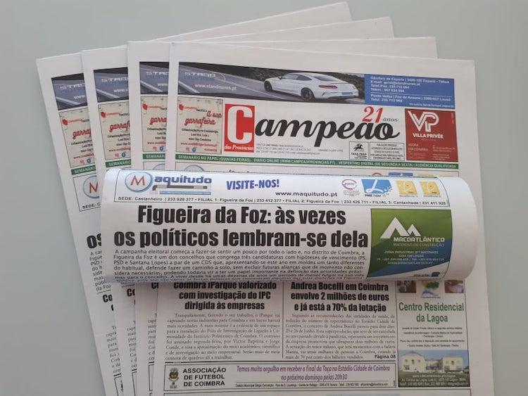 Jornal Campeão: Figueira da Foz prepara os motores para a pré-campanha eleitoral