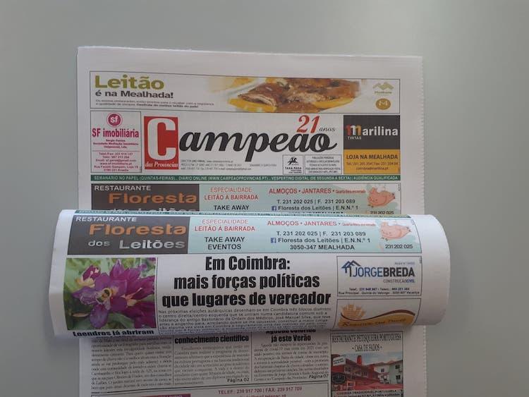 Jornal Campeão: Em Coimbra:  mais forças políticas que lugares de vereador