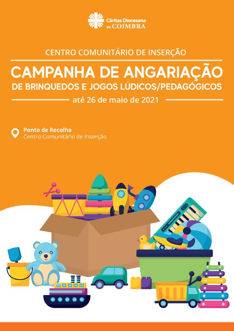 Jornal Campeão: Centro Comunitário de Inserção com campanha de angariação de brinquedos