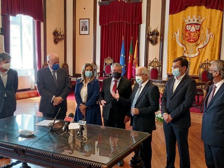 Jornal Campeão: Munícipios da região de Coimbra assinam contrato para o Rali de Portugal