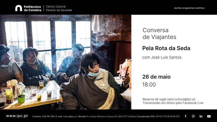 """Jornal Campeão: """"Conversa de Viajantes"""" no Centro Cultural do Politécnico de Coimbra"""