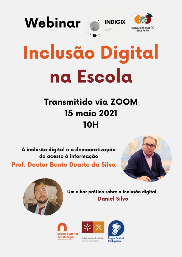 Jornal Campeão: ESEC organiza webinar sobre inclusão digital na escola