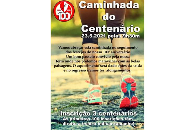 Jornal Campeão: Figueira da Foz: Grupo Recreativo Vilaverdense comemora centenário com caminhada