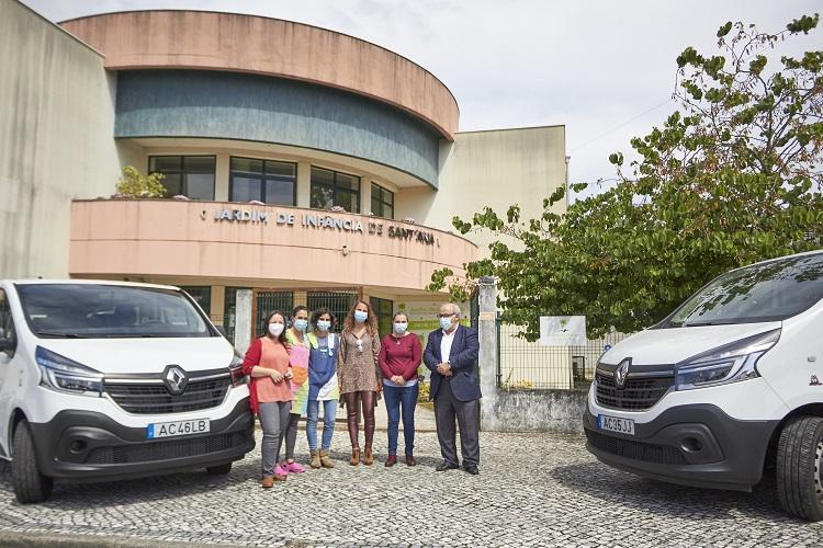 Jornal Campeão: Mealhada apoiou aquisição de viaturas para o Jardim de Infância Sant'Ana