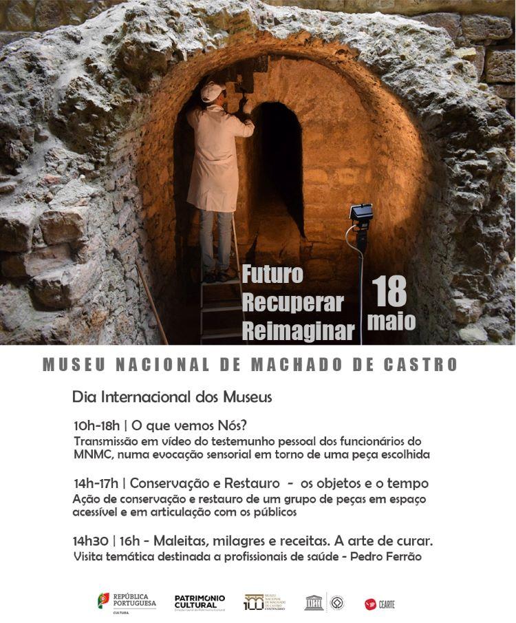 Jornal Campeão: Museu Machado de Castro assinala Dia dos Museus com actividades