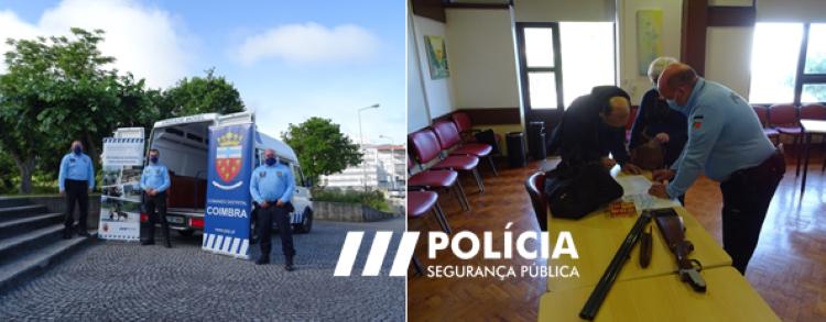 Jornal Campeão: PSP fez sessão de esclarecimento em Góis sobre posse de armas