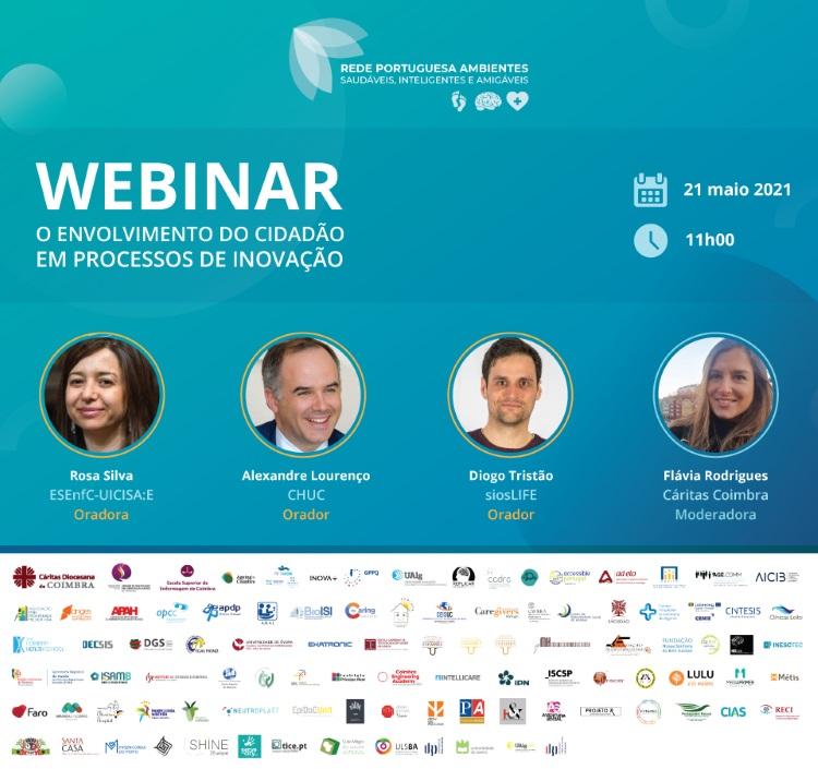Jornal Campeão: Rede de Ambientes Saudáveis com palestra sobre envolvimento do cidadão na inovação
