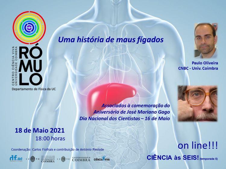 Jornal Campeão: Rómulo assinala Dia Nacional dos Cientistas com palestra online