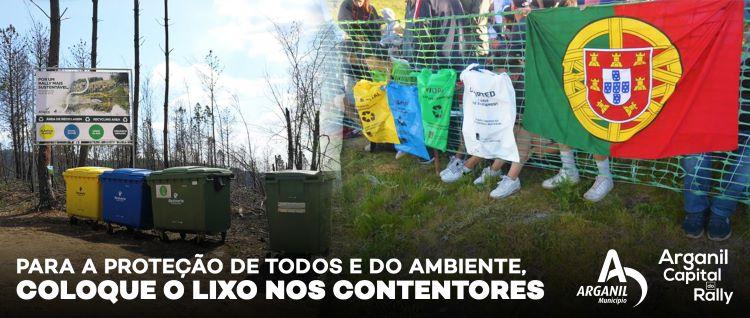 Jornal Campeão: Arganil une-se por um Rally mais sustentável e amigo do ambiente