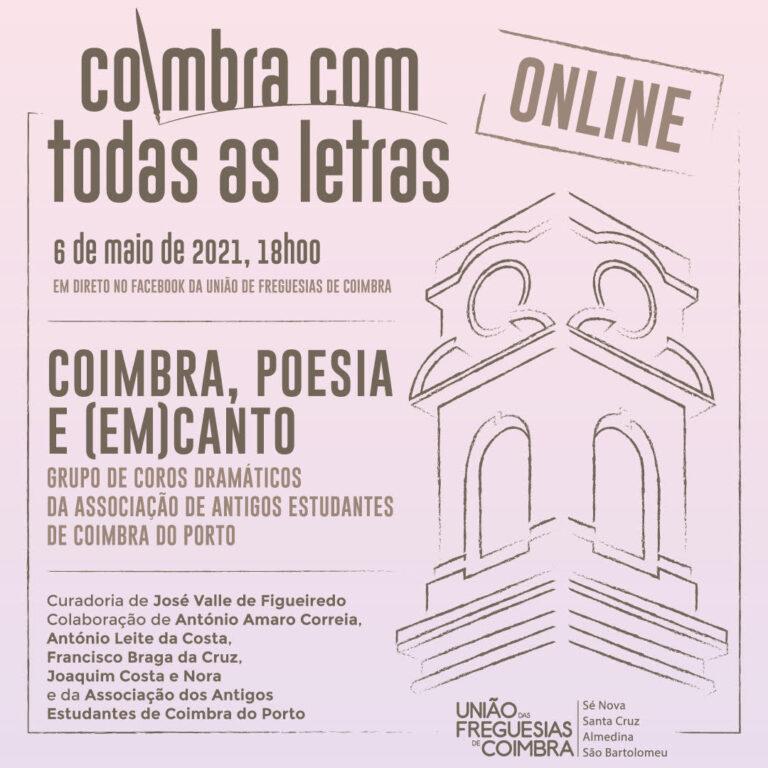 """Jornal Campeão: Coimbra apresenta """"Poesia e (em)canto"""""""