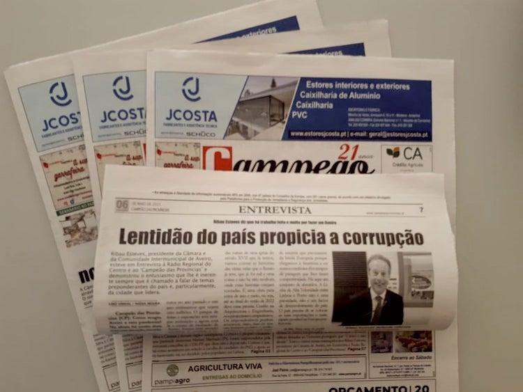 Jornal Campeão: Entrevista a Ribau Esteves