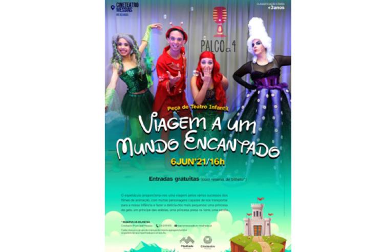 Jornal Campeão: Câmara da Mealhada assinala Dia da criança com teatro infantil e oferta de livro