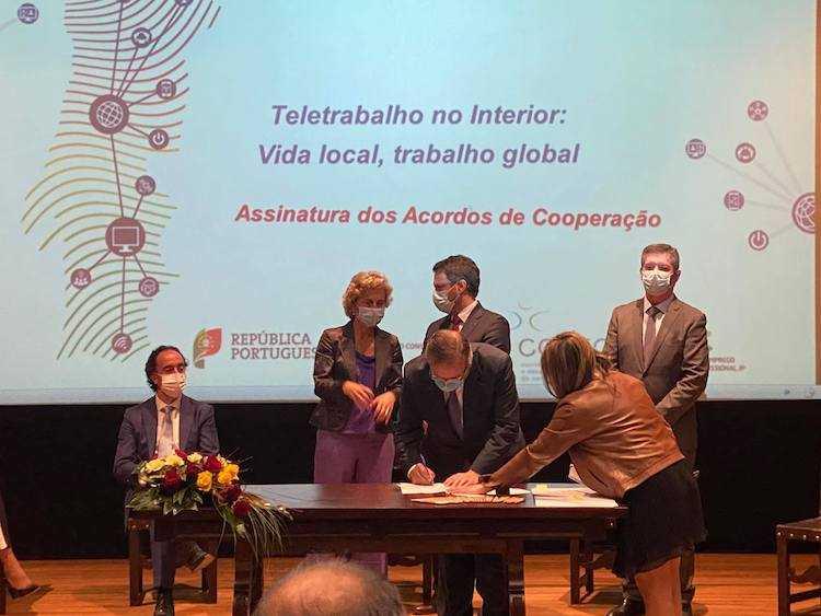 Jornal Campeão: Miranda do Corvo integra Rede Nacional de Espaços de Teletrabalho e Coworking