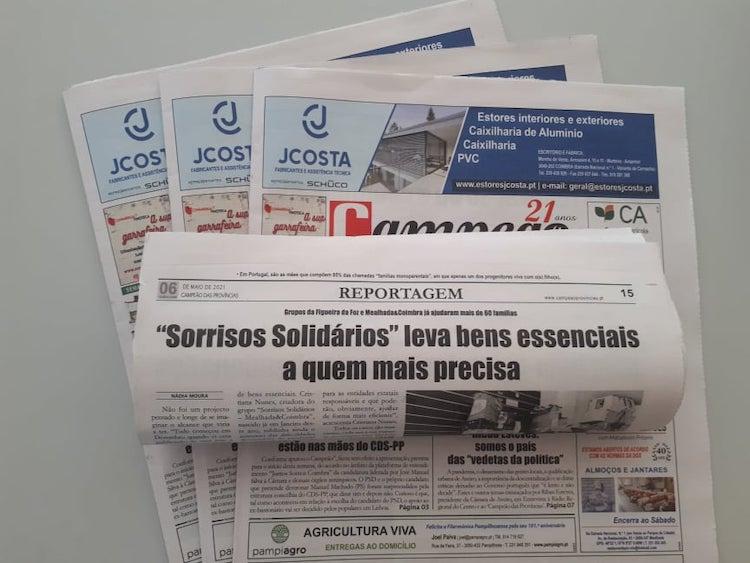 """Jornal Campeão: """"Sorrisos Solidários"""" leva bens essenciais  a quem mais precisa"""