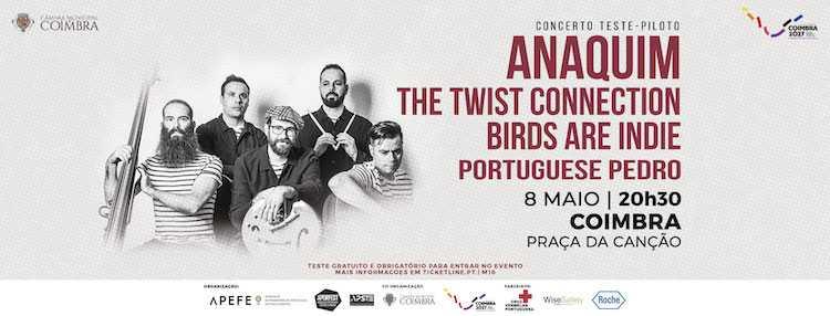 Jornal Campeão: Coimbra recebe concerto teste-piloto