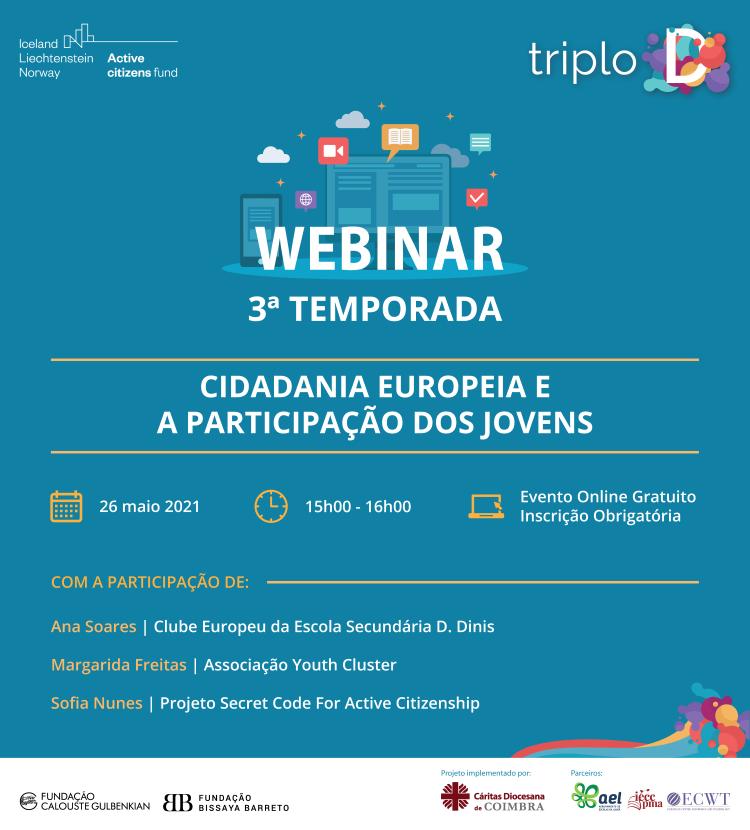Jornal Campeão: Projecto da Cáritas de Coimbra lança novo webinar sobre Cidadania Europeia