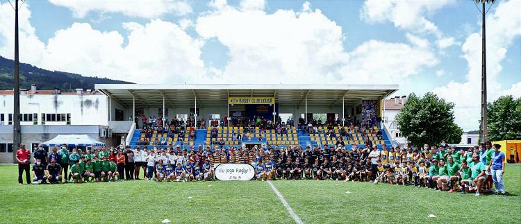 Jornal Campeão: Lousã recebeu convívio de rugby sub-12 e sub-14