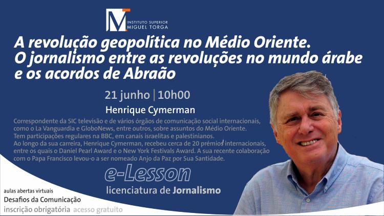 """Jornal Campeão: ISMT promove aula de """"Jornalismo entre as revoluções no mundo árabe"""""""