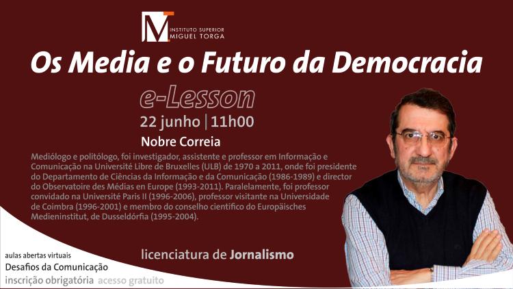 """Jornal Campeão: Instituto Miguel Torga debate """"Os Media e o futuro da Democracia"""""""