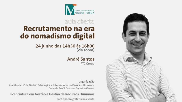 """Jornal Campeão: ISMT promove aula sobre """"Recrutamento na era do nomadismo digital"""""""
