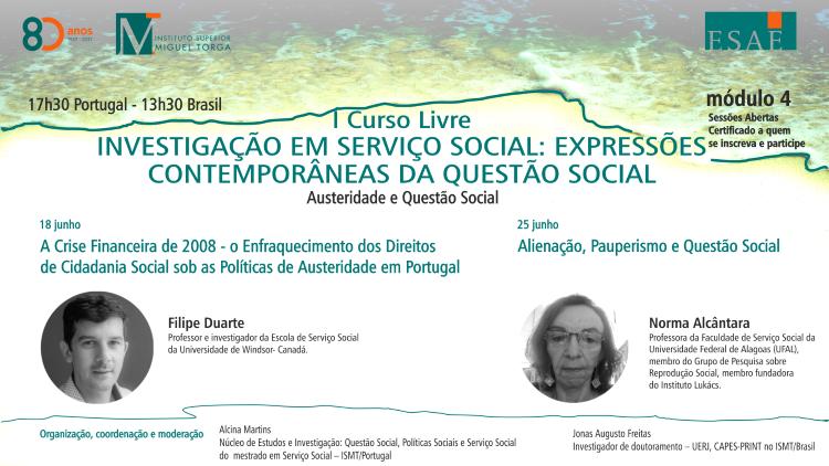 """Jornal Campeão: ISMT promove aula aberta com o tema """"Alienação, Pauperismo e Questão Social"""""""