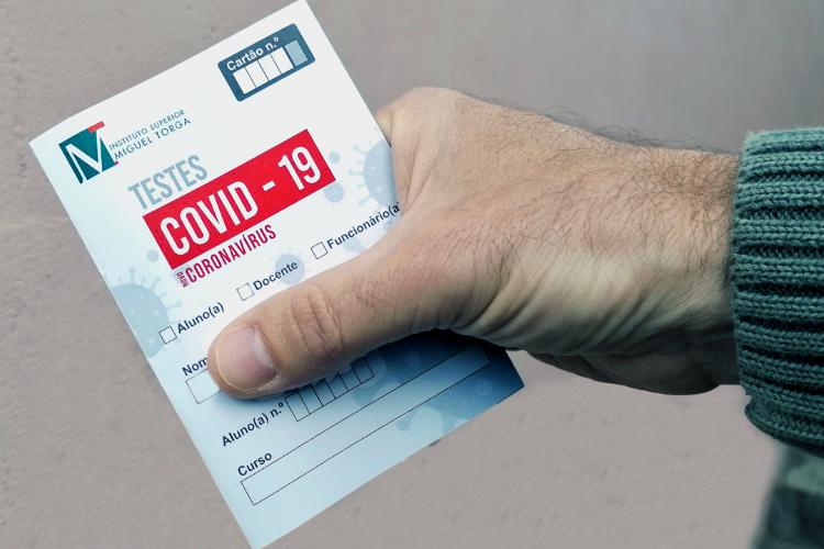 Jornal Campeão: ISMT iniciou 2.ª fase de testagem de despiste à covid-19 na comunidade académica