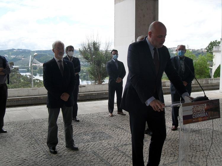 """Jornal Campeão: Paulo Mota Pinto diz que é mandatário do """"Juntos Somos Coimbra"""" por dever cívico"""