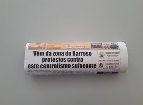 Jornal Campeão: Vêm da zona do Barroso  protestos contra  este centralismo sufocante