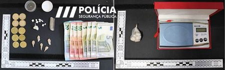 Jornal Campeão: Detido pela PSP na Baixa de Coimbra por tráfico de droga