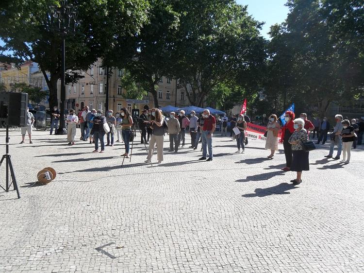 Jornal Campeão: Concentração em Coimbra em defesa do Hospital dos Covões