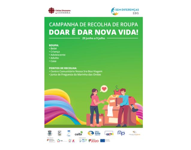 Jornal Campeão: Cáritas de Coimbra promove campanha de recolha de roupa