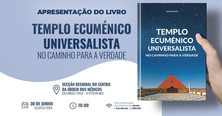 """Jornal Campeão: Médicos do Centro promove livro """"Templo Ecuménico Universalista"""""""