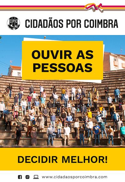 """Jornal Campeão: """"Cidadãos por Coimbra"""" põe a debate o programa eleitoral"""