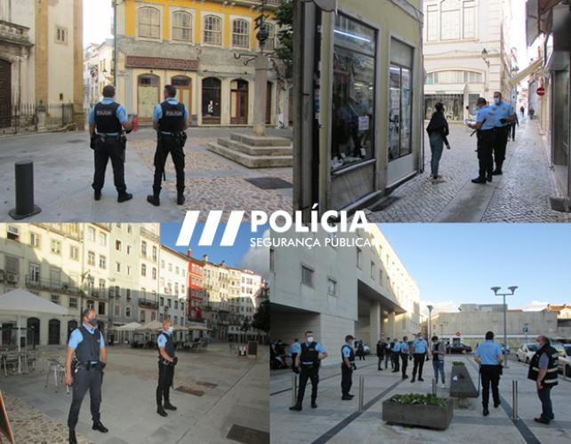 Jornal Campeão: PSP de Coimbra organizou operação especial de prevenção criminal