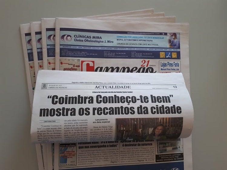 """Jornal Campeão: """"Coimbra Conheço-te bem"""" mostra os recantos da cidade"""