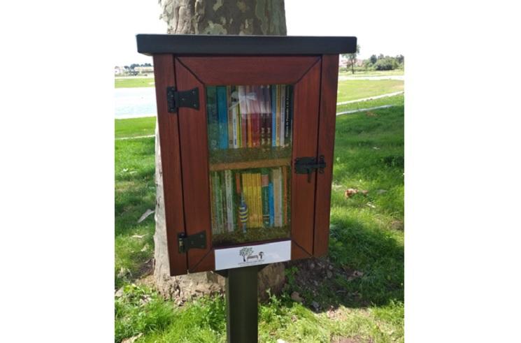 Jornal Campeão: Anadia adere a projecto de pequenas bibliotecas livres