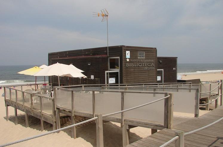 Jornal Campeão: Cantanhede tem em funcionamento Biblioteca da Praia da Tocha