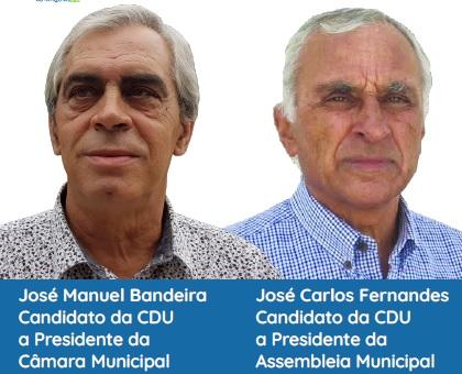 Jornal Campeão: CDU apresenta candidatos à Câmara e Assembleia Municipal de Góis