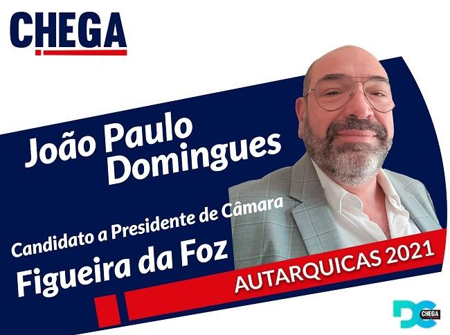 Jornal Campeão: João Paulo Domingues é o candidato do Chega à Figueira da Foz
