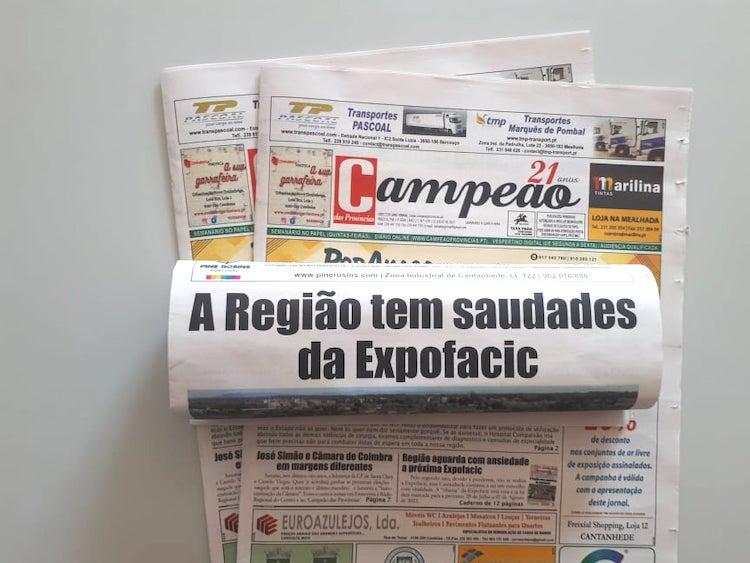 Jornal Campeão: Região aguarda com ansiedade a próxima Expofacic