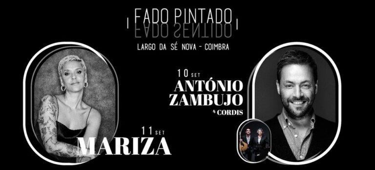 """Jornal Campeão: """"Fado Pintado, Fado Sentido"""" em Coimbra, com Mariza, António Zambujo e Cordis"""