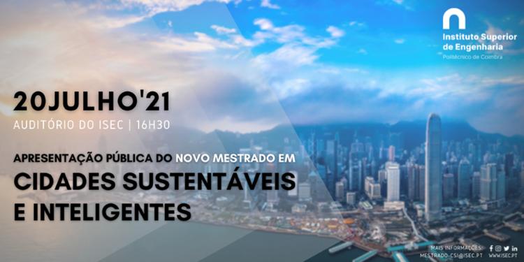 Jornal Campeão: ISEC aposta em mestrado em Cidades Sustentáveis e Inteligentes